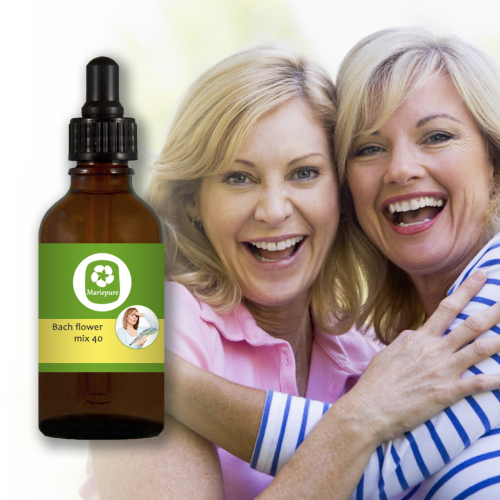 Bach flowers mix 40 Menopause